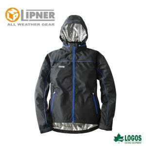○LIPNER リプナー アルミヒートウィンドジャケット カール ブルー 3078415 防水防寒ウェア メンズ|szone