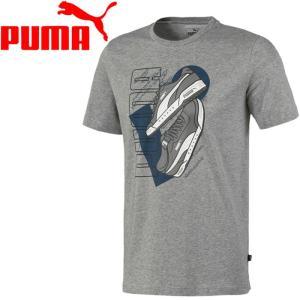 ○20SP PUMA(プーマ) スニーカー グラフィックTシャツ 581911-03 メンズ