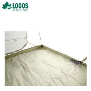 ロゴス LOGOS テントぴったり防水マット・SOLO 71809602 テントインナーマット|szone