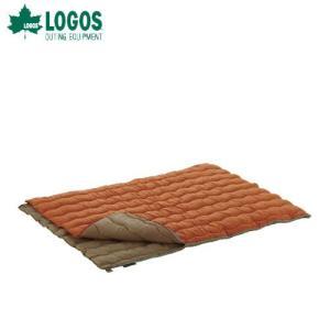 ロゴス LOGOS 2in1・Wサイズ丸洗い寝袋・2 72600680 シュラフ|szone