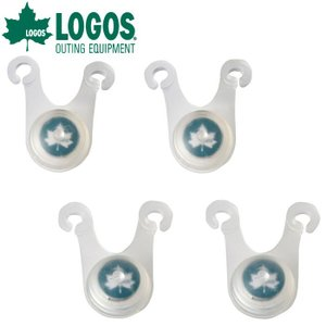 ◇LOGOS ロゴス  ロープライト(4pcs) 74176001 子供の安全を守る光 見えないテントロープを照らし出す|szone
