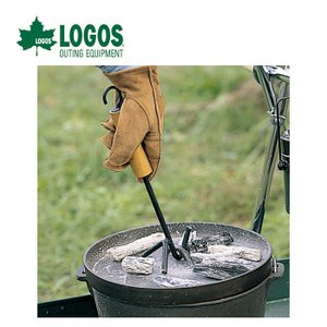 LOGOS ロゴス ウッドグリップリフター ダッチオーブンを取り扱う際の必需品! 81062202|szone