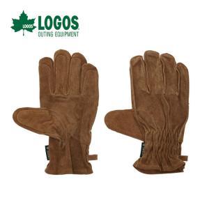 LOGOS ロゴス BBQ耐熱レザーグローブ 牛革製 81090920|szone