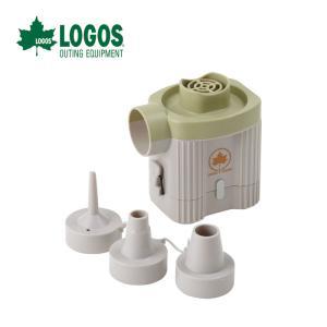 ロゴス バッテリーハイパワーブロー(0.38PSI) エアーポンプ 空気入れ 81336590|szone