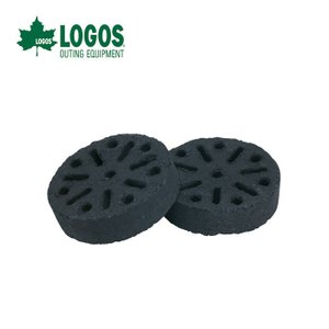 LOGOS ロゴス ECLラウンドストーブ 2個入り 83100102 成型炭