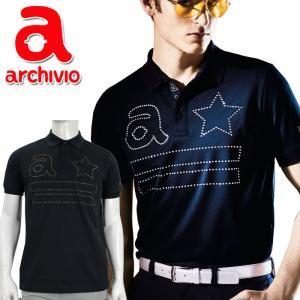 アルチビオ archivio  ゴルフ ポロシャツ 半袖 A869308 メンズ 2019年春夏|szone