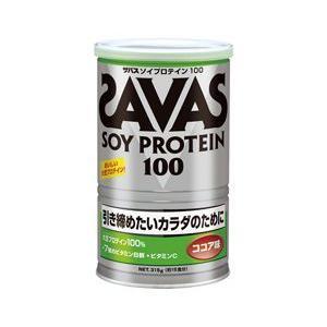 部活応援セール! ザバス ソイプロテイン100 315g(約15食分) ココア味 CZ7445|szone