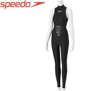 水中で楽な姿勢をサポートする水着。腰から太ももに浮力サポート、着やすさに優れたFLEX Σ素材を使用...