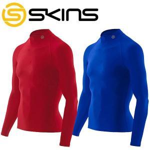 スキンズ  メンズ ロングスリーブトップ モックネック SKINS  J57187015D J57189015D|szone