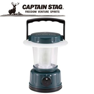 キャプテンスタッグ レギュラー LEDランタン グリーン M5122 電池式 CAPTAIN STAG|szone