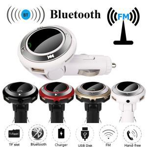 FMトランスミッター  Bluetooth USB 2台同時充電 ハンズフリー スマホ iPhone6/6s7/8/X スマホ アンドロイド 対応 4カラー|t-a