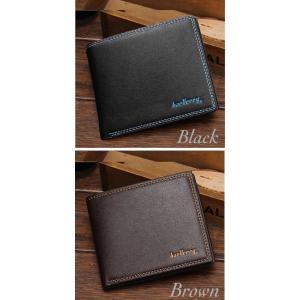財布 二つ折り財布 レザー  メンズ お札入れ カードケース  レディース  カード 名刺入れ  ウォレット  男女兼用 ブラック ブラウン 2Color|t-a