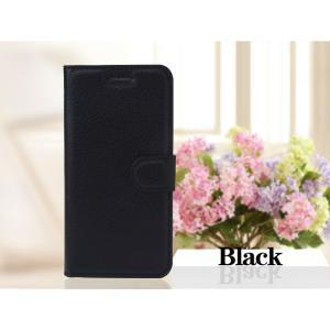 iPhone6 iPhone 6S iPhone 手帳型4.7レザーケース+強化保護フィルム付き 黒 収納 1 オシャレ スマホカバー 携帯ケース  ブラック|t-a