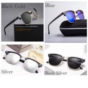 サングラス サーモント ミラー スモーク ブルーレンズ 伊達メガネ UV400 紫外線カット 男女兼用 メンズ レディース 4Color