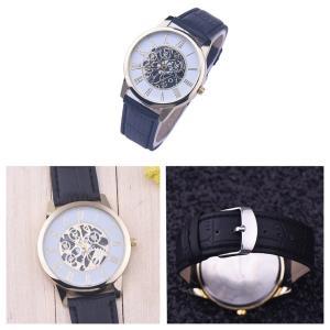腕時計 メンズ 高品質 レザー 革 ベルト ビ...の詳細画像2