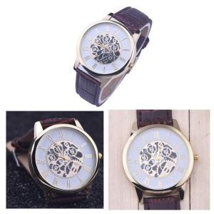 腕時計 メンズ 高品質 レザー 革 ベルト ビ...の詳細画像3