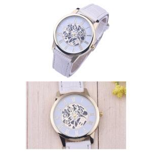 腕時計 メンズ 高品質 レザー 革 ベルト ビ...の詳細画像4