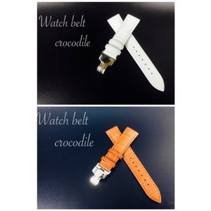 時計ベルト メンズ 腕時計 Dバックル カーフ革 クロコダイル型押し 20mm  革 替えベルト ビジネス ブランド セイコー ガガミラノ交換可能 2Color |t-a