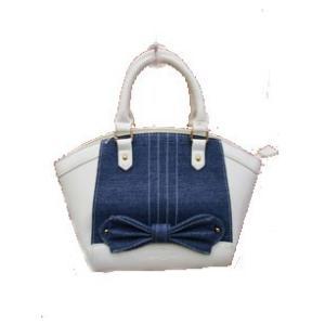 ギャラリー ビスコンティ /【LAST CLEARANCE 】デニム&合皮使い 2wayバッグ|t-blueberry