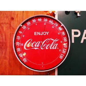 コカ・コーラアウトドアサーモメーター/アメリカ雑貨アメリカン雑貨温度計ガレージcoca-colaグッズグッツ|t-bravo