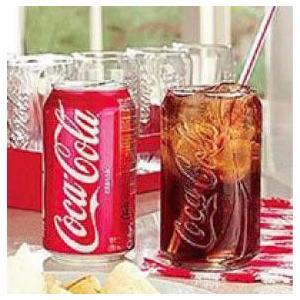 コークカングラス/コカコーラ缶コップMadeinUSA|t-bravo