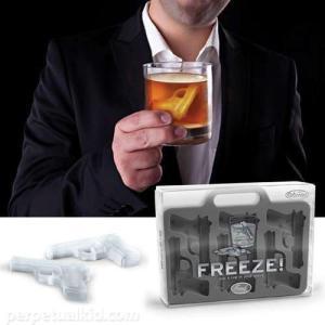 45484 Fred アイストレー フリーズドロップユアガン/バレンタイン製氷皿面白おもしろ銃鉄砲|t-bravo