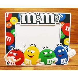 m&m's ラバーフォトフレーム/写真立てエム&エムキャラクターグッズグッツ|t-bravo