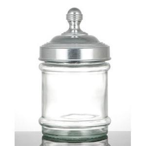 ガラスキャニスター プレーン [100-030] ■ グラスキャニスター 調味料入れ 小物入れ 保存容器 密閉 ふた付き アメリカン雑貨 (ダルトン/DULTON) t-bravo