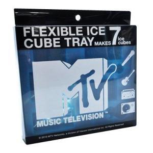 MTVアイストレー////製氷皿面白おもしろバレンタインロゴラジカセギターマイクターンテーブル|t-bravo