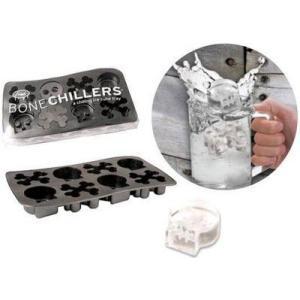 40782 アイストレー ボーンチラーズ/製氷皿面白バレンタインおもしろガイコツskullハロウィン|t-bravo