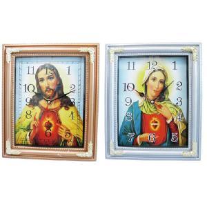時計ジーザス&マリアクロック ■ マリア ジーザス キリスト アメリカン雑貨|t-bravo
