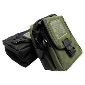 ミニアーミーポーチ type2/ミリタリー鞄バッグ小物入れカメラ携帯スマホデジカメ米軍