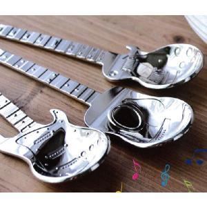 ギタースプーン/弦楽器面白おもしろカトラリー食器ギフトプレゼント|t-bravo