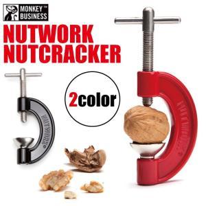 ナットワークナッツクラッカー/くるみ割り面白おもしろ工具クルミ胡桃 t-bravo