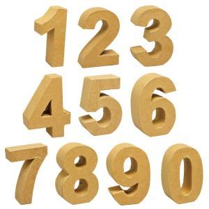 2K-260 ペーパーマッシュ(ナンバー)/ナチュラル数字ナンバーインテリア雑貨ディスプレイ アメリカン雑貨 ポイント消化|t-bravo