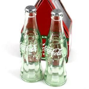 コカコーラ ソルト&ペッパー / 塩コショウ 瓶型 ビン コンツァーボトル アメリカン雑貨|t-bravo