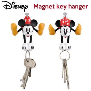 ディズニー マグネットキーホルダー/disney磁石ミッキーミニー鍵カギ収納アメリカ雑貨アメリカン雑貨|t-bravo