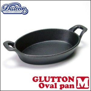 ダルトン グラットンオーバルパン(M)/DULTON GS515-291M GLUTTON Oval pan スキレット t-bravo
