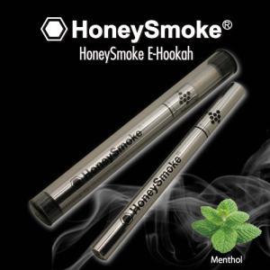電子タバコ ハニースモーク E-hookah (シルバー) ■ たばこ 煙草減煙 スリム 禁煙 使い捨て アメリカン雑貨切り honeysmoke メール便可 メール便送料無料|t-bravo