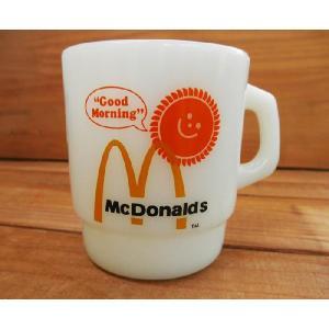 Fire-King ファイヤーキングMcDonalds マクドナルド/アメリカ雑貨アメリカン雑貨アンカーホッキング|t-bravo