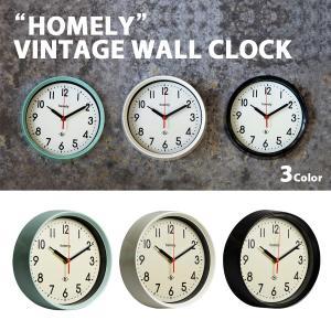 時計ホームリーヴィンテージウォールクロック [1J-174] ■ 壁掛け おしゃれ インテリア 北欧 デザイン ギフト アメリカン雑貨|t-bravo