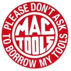 レーシングステッカー MacToolsマックツールズ ms060 メール便可/ シール ステッカー オイル カンパニー メカニック|t-bravo