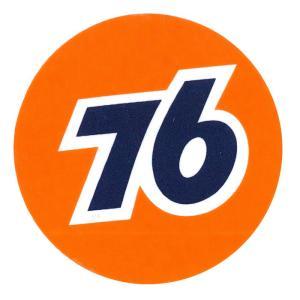 レーシングステッカー 76 ms002/ メール便可 /シール ロゴ ナナロク カンパニー カスタム|t-bravo