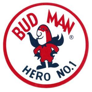 レーシングステッカー バドマン ms091/ メール便可 /シール BUD MAN Budweiser キャラクター バドワイザー カスタム|t-bravo