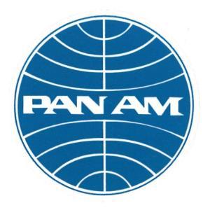 レーシングステッカー PANAM パンナム航空 ms059/メール便可/パンアメリカン航空 エアライン カンパニー メカニック|t-bravo