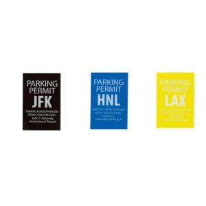 レーシングステッカー PARKINGPERMITパーキングパーミット メール便可/空港 エアポート シール 地方自治体 専用駐車場|t-bravo