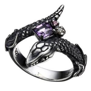 BIZARRE SRJ117SV Ouroboros Collection Eternal シルバーリング(Ladies)/指輪シルバーアクセサリー|t-bravo