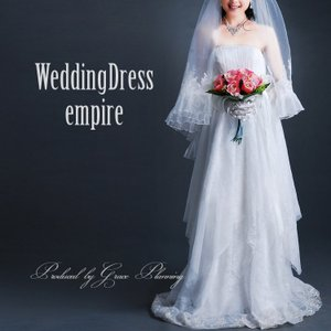 新作 サイズオーダー ウエディングドレス エンパイアライン マタニティドレス オフホワイト 5号〜25号 大きいサイズ 小さいサイズ/od1019|t-bright