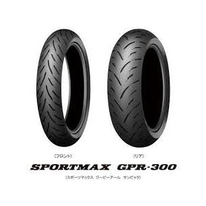 スポーツマックス  GPR300 190/50ZR17 MC 73W TL リヤ用|t-corp