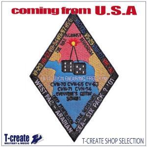 ミリタリー ワッペン アメリカ軍 パッチ WESTPAC 2001 不朽の自由作戦 US.NAVY